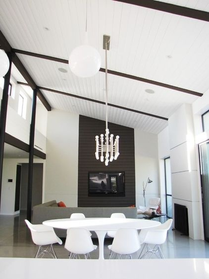 Inspired by Eichler Homes and modern designer Jeff Lewis,