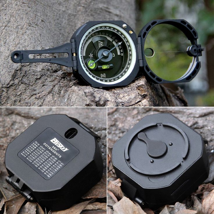 US Pocket Compass Transit Army Geological for Outdoor Sports Camping & Hiking | Sporting Goods, Outdoor Sports, Camping & Hiking | eBay!