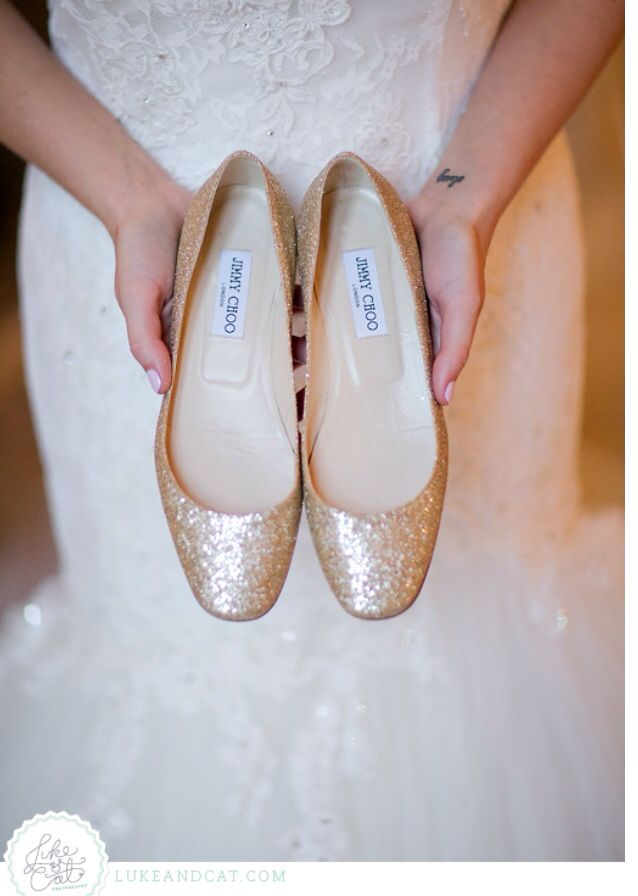 Jimmy Choo Flats Bridal Shoeswedding