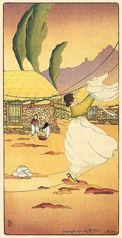 Monday Morning in Korea  by Lilian Miller, 1920