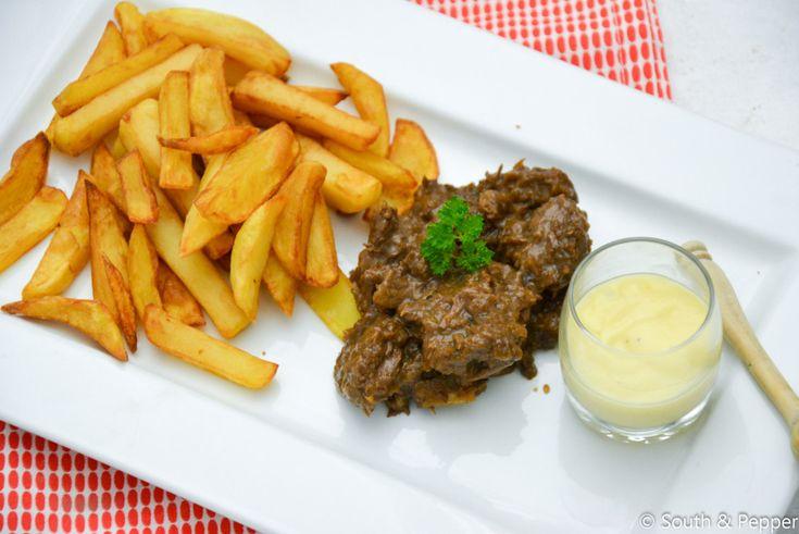 Deel 2: het recept voor stoofvlees-friet | South & Pepper