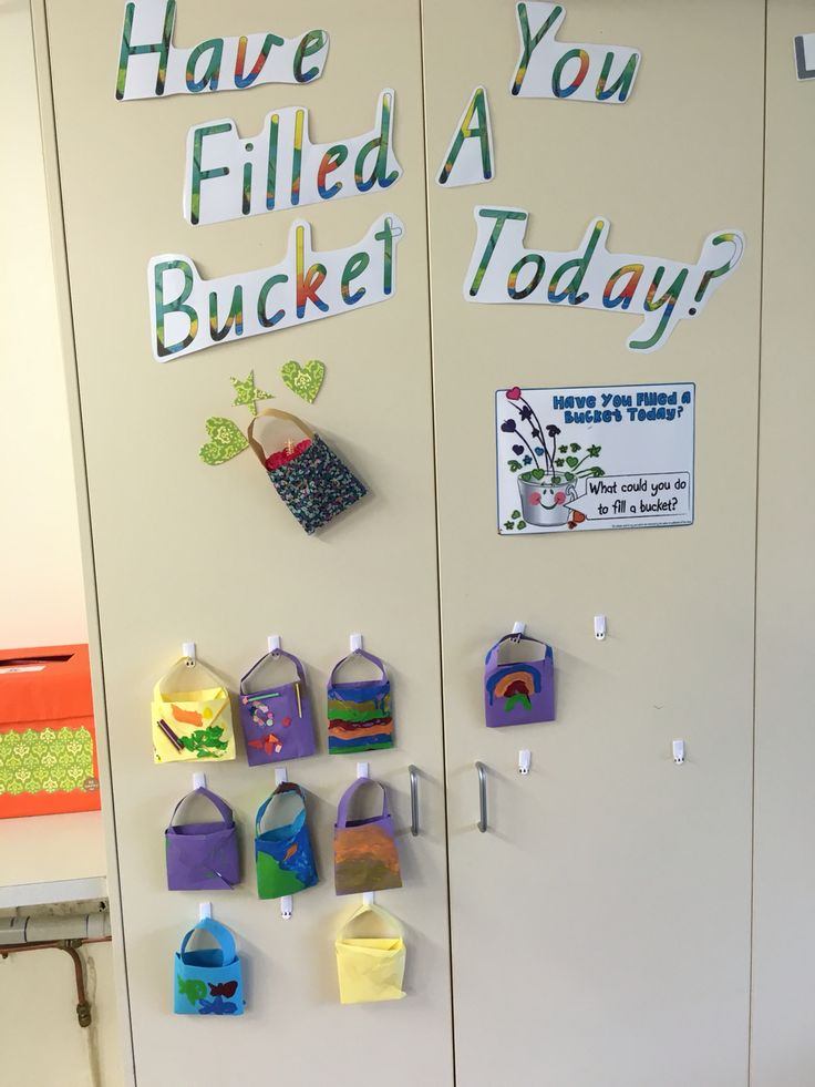 We are using the behaviour program, have you filled a bucket today