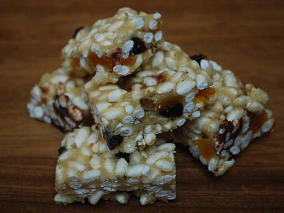 cookingthemhealthy | Healthy Rice Crispy Squares