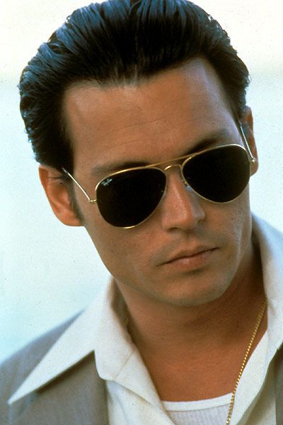 Nothing beats a classic pair of Ray Ban aviator glasses. Johnny Depp as Donnie Brasco
