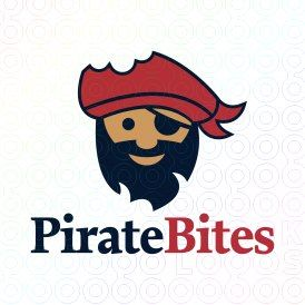 Exclusive Customizable Logo For Sale: Pirate Bites | StockLogos.com https://stocklogos.com/logo/pirate-bites