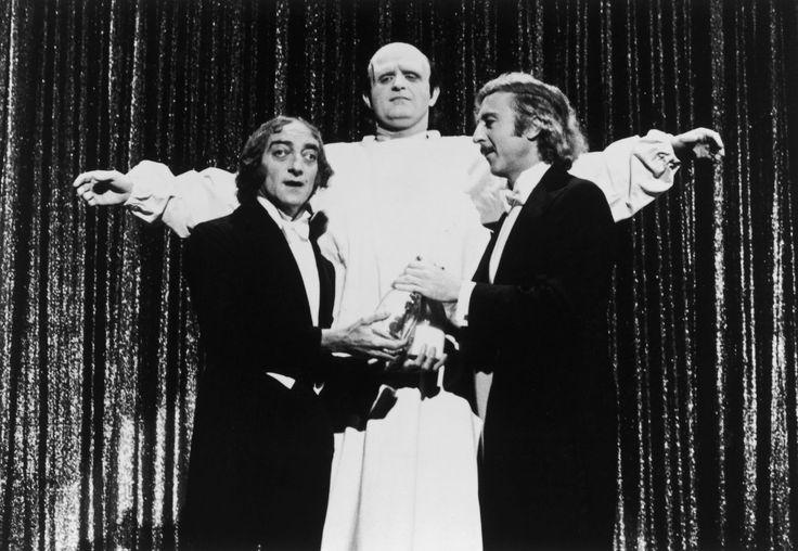 Teri Garr, Gene Wilder, Marty Feldman, Cloris Leachman, and Peter Boyle in Young Frankenstein (1974)