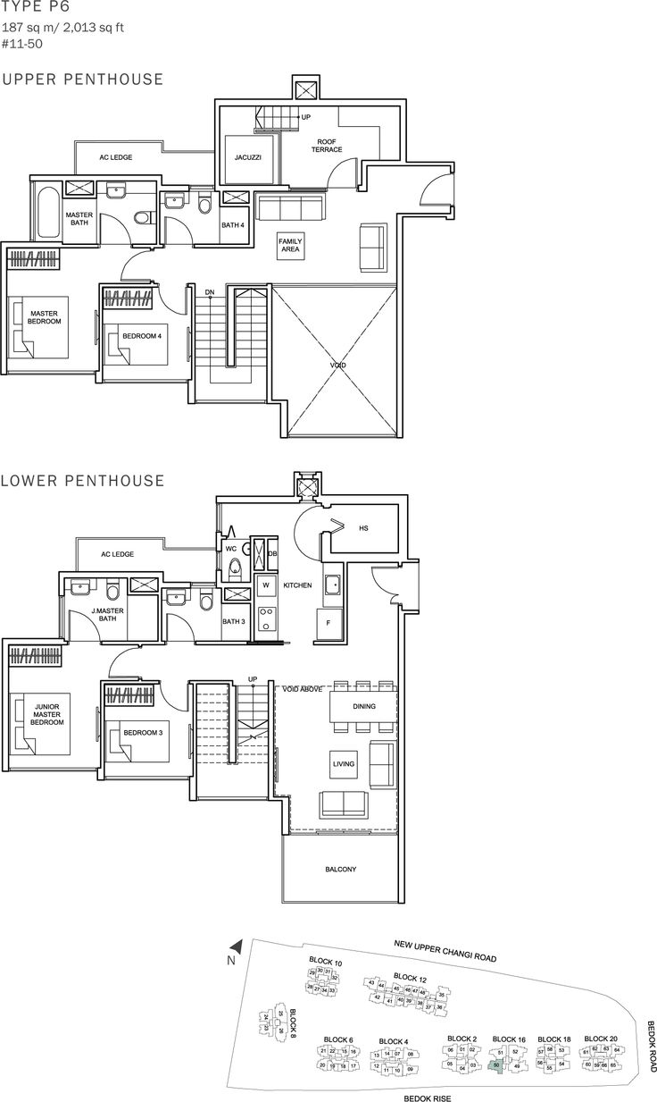 The Glades Condo Floor Plan - 4BR Penthouse - P6 - 187 sqm-2013 sqft.JPG
