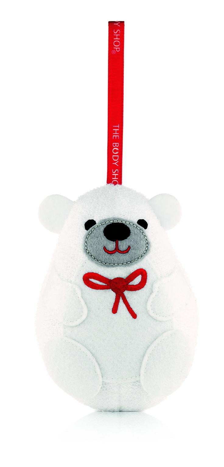 The Body Shop Polar Bear Bath Sponge R50.00 Limited Availability
