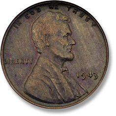 Lincoln. Copper. 1943