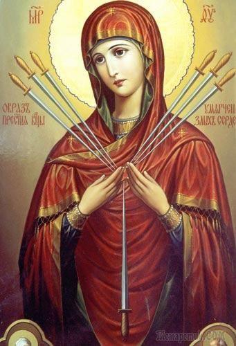 Икона Божией Матери «Умягчение злых сердец»