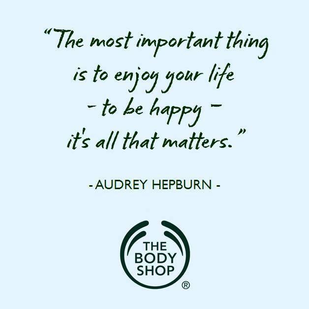 Audrey Hepburn / The Body Shop