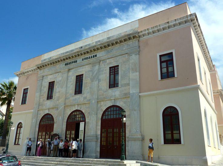 Syros - Ermoupoli - Théâtre d'Apollon