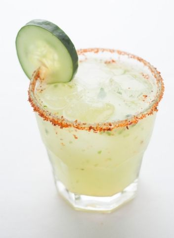 This De la Calle Spicy Cucumber Margarita is Perfect for Friday Happy Hour!