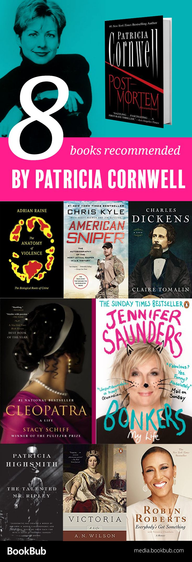 8 Books Recommended By Patricia Cornwell