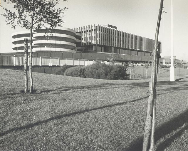 Terminal 1 in 1972 or 1973
