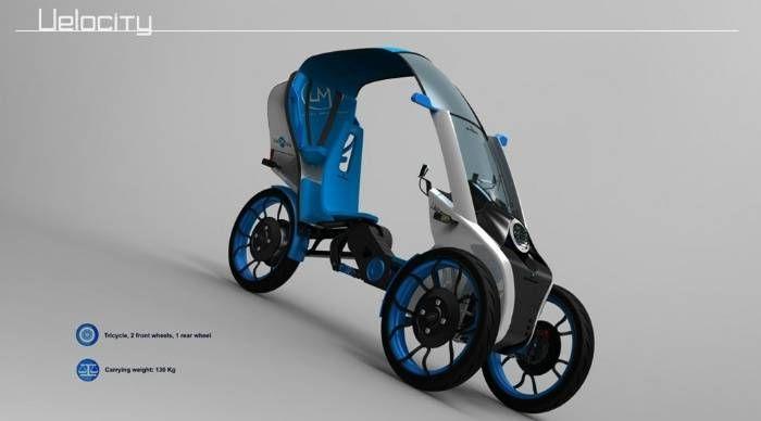 Bajo mi opinión, la mejor manera de que haya buenas ideas y se creen nuevos conceptos en pro de la movilidad sostenible, se basa en que un diseñador tenga unas pautas sobre las que basar su dise