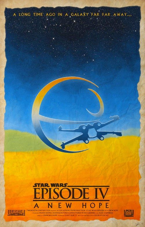 The Geeky Nerfherder: Cool Art: 'Original Star Wars Trilogy' by Daniele ...