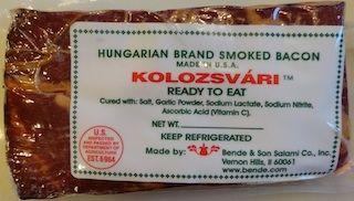 Szalonna ~ Hungarian style bacon