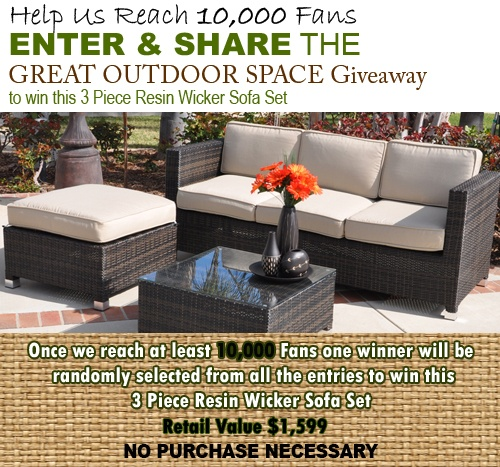 Wicker Patio Furniture Giveaway From PatioShoppers.com | Patios And Wicker  Patio Furniture