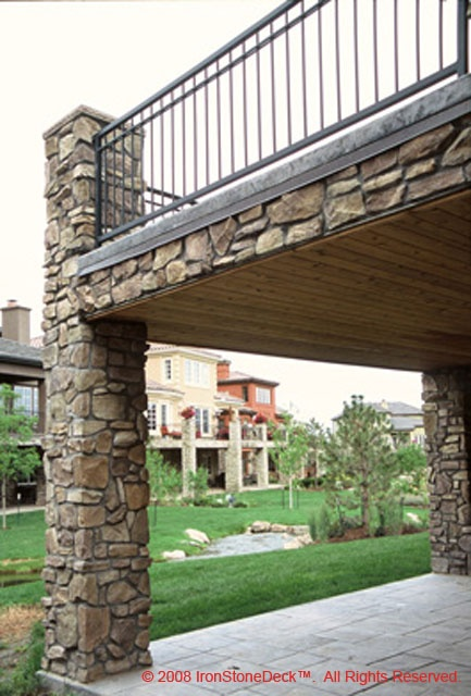 124 best images about patriot on pinterest stamped for Concrete patio railing