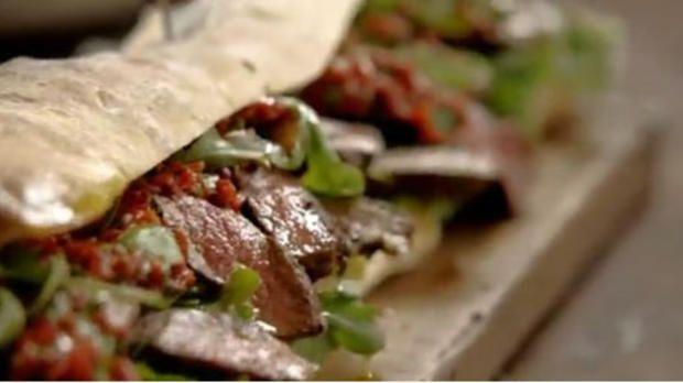Steak-Sandwich von Jamie Oliver | sixx.de