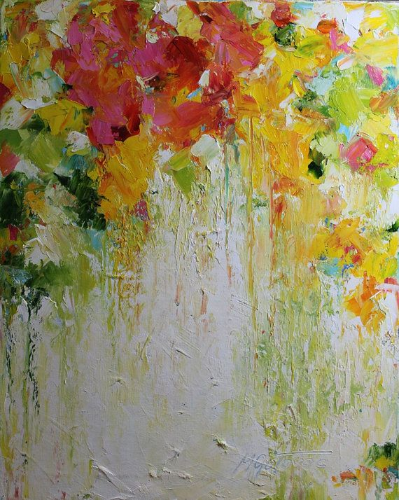 Original Oil PaintingSpring Time Modern Contemporary by mgotovac, $129.00