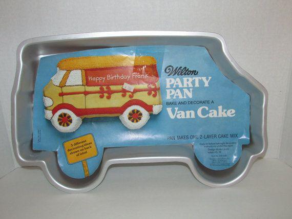 Vintage 1979 Wilton  Van Cake