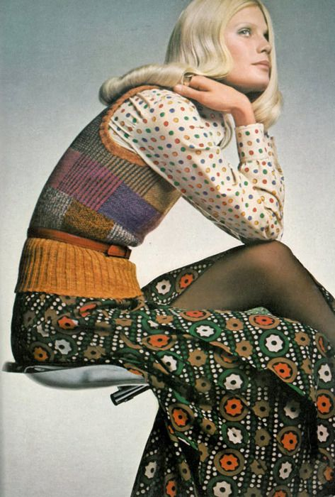 1970's fashion - barry lategan vogue 1971