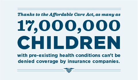 The Affordable Care Act keeps kids covered