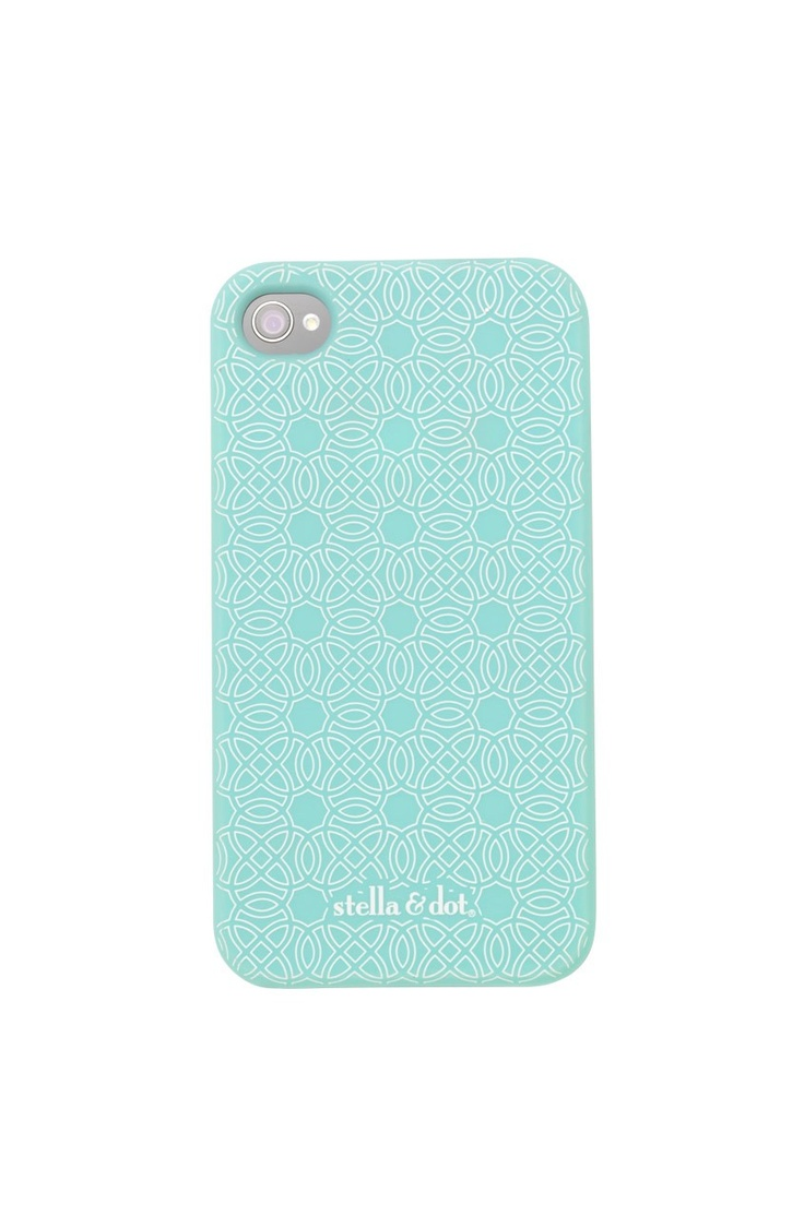 Dress up and protect your iPhone 4 with our Signature Stella & Dot iPhone Case.  $29