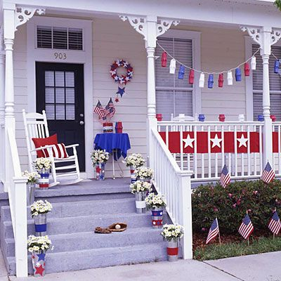 Patriotic Decorating Ideas For Porch | of 17 view all patriotic crafts decorate in patriotic red white and ...