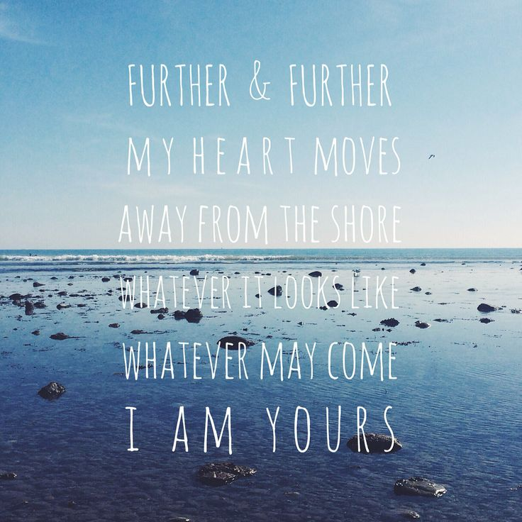 """Bethel music new album we will not be shaken lyrics """"further and further my heart moves away from the shore whatever it looks like whatever may come I am yours"""" in over my head"""