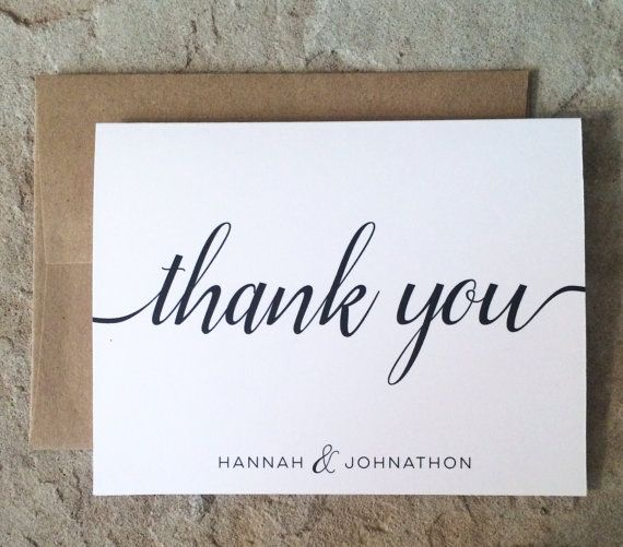 Best 25+ Personalized thank you cards ideas on Pinterest - thank you note
