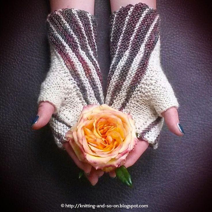 Free Knitting Pattern: Winding Mitts