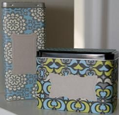 latas-forradas.JPG: Diy Ideas, Crafts Ideas, Diy Crafts, Diy Tutorials, Crafts Projects, Old Tins, Altered Tins, Random Decor, Covers Tins
