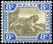 Postage stamps and postal history of Malaysia