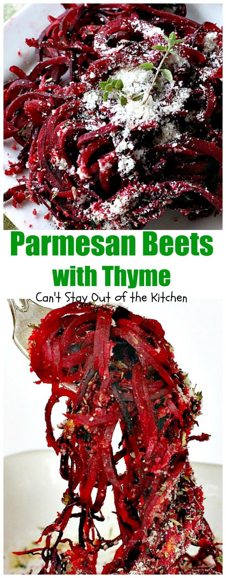 Parmesan Beets with Thyme | Can't Stay Out of the Kitchen | this is a…