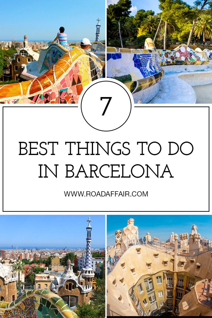 The ultimate travel guide to the best things to do in Barcelona, Spain.