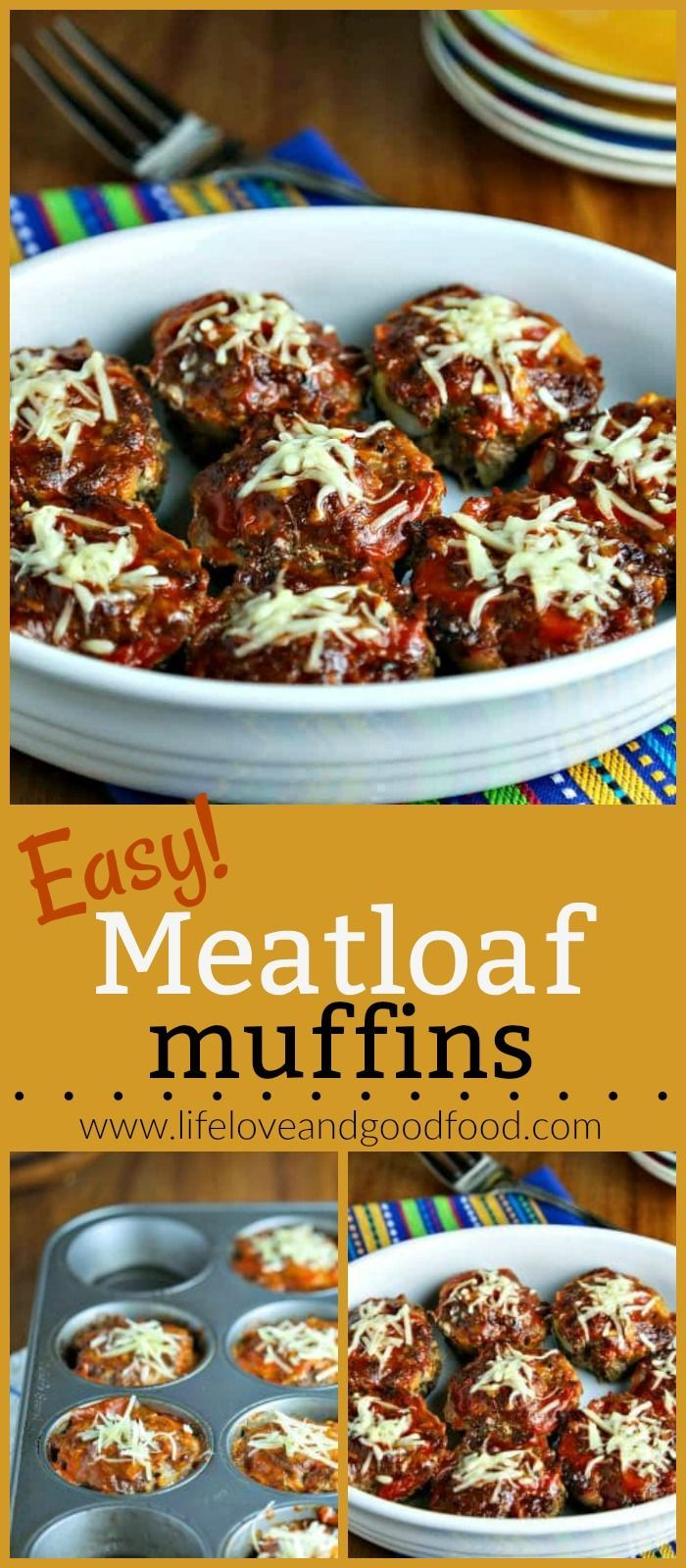 Down-home comfort food gets a healthy makeover in these lean Easy Meatloaf Muffins AND they can be prepared and on your table in less than an hour! via @sheilathigpen