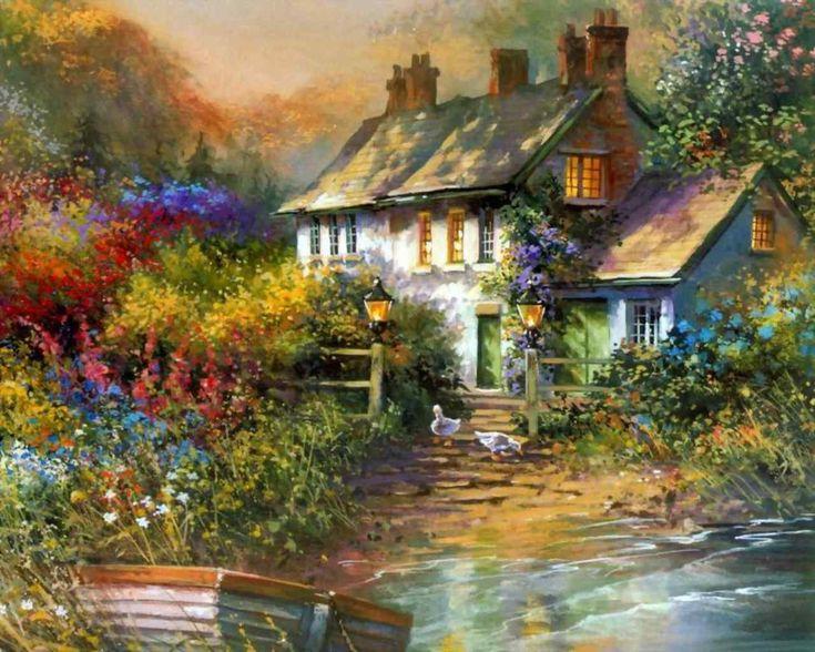 Thomas Kinkade Painting 91.jpg