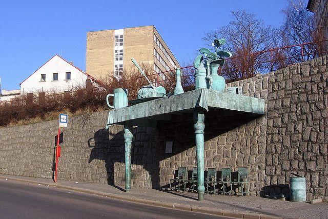 created in 2005 by the sculptor David Černý   Czech Republic