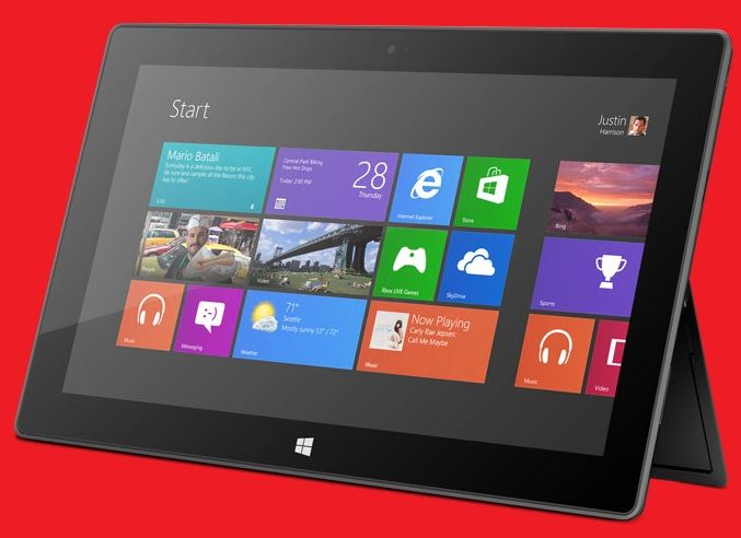 Surface with Windows RT includes Microsoft Skydrive