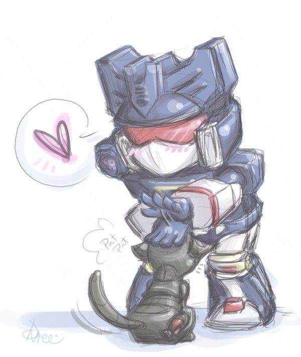 TF: Mini Soundwave by ~DoodleWEE