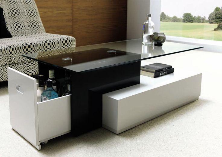 mesa centro de madera mesa centro de cristal. Decoración Giménez.