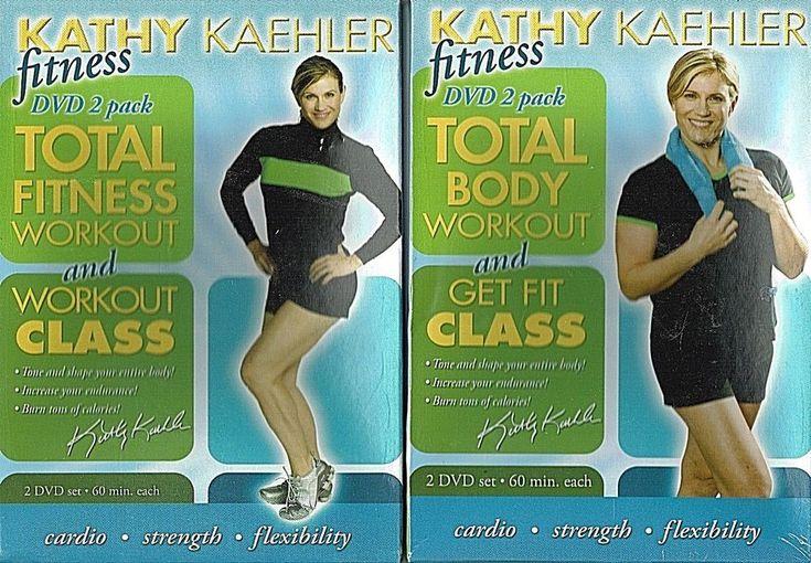 Total Body Workout 4 DVD Set Videos Tone Fat Burning Cardio Sculpting Abs Core #ExerciseTV