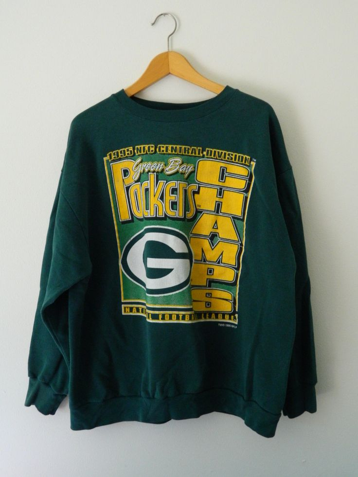 Vintage Green Bay Packers Sweatshirt // Size XXL 2X // Retro Packers Sweatshirt // Packer Championship Sweatshirt // Packer Gift by GreenBayGal on Etsy