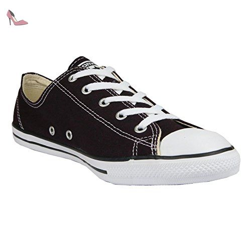 Converse Chucks Dainty 553371C All Star Toile Maroon Black Cherry, Converse Schuhe Damen Slim Sizegroup Leiste 7 5/B:41 - Chaussures converse (*Partner-Link)