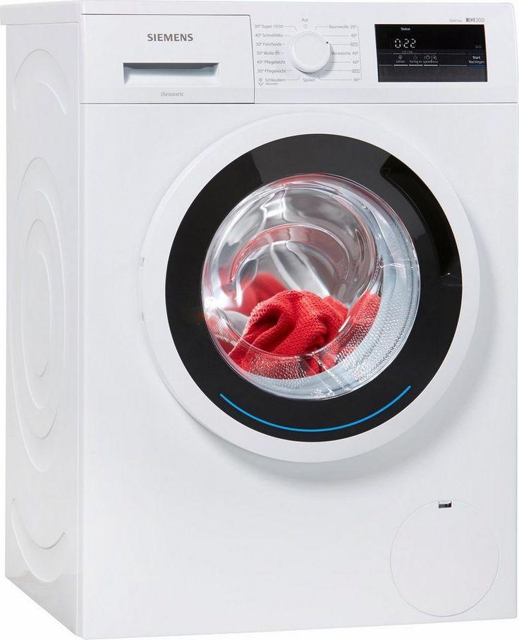 SIEMENS Waschmaschine iQ300 WM14N0ECO, A   , 6 kg, 1400 U/Min
