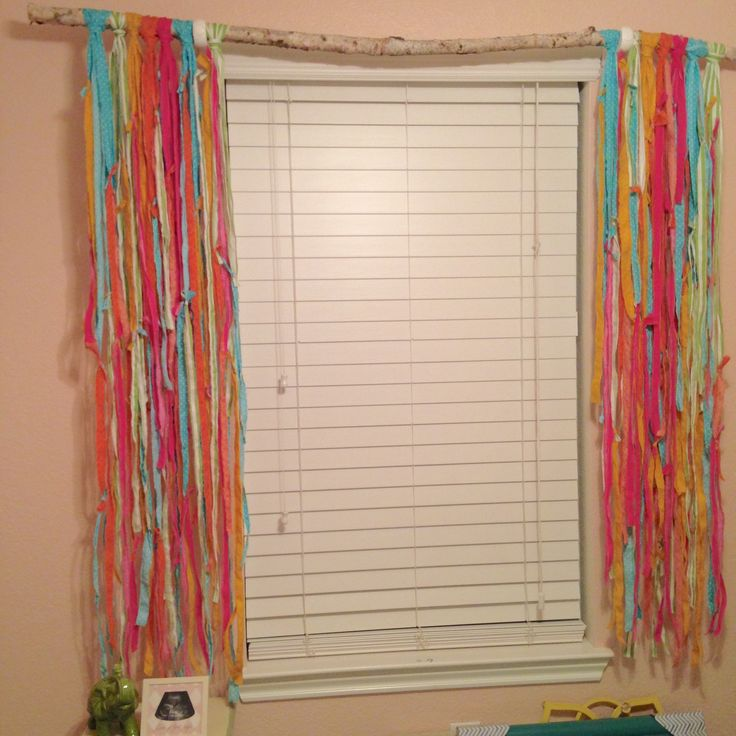 1000+ Ideas About Rag Curtains On Pinterest
