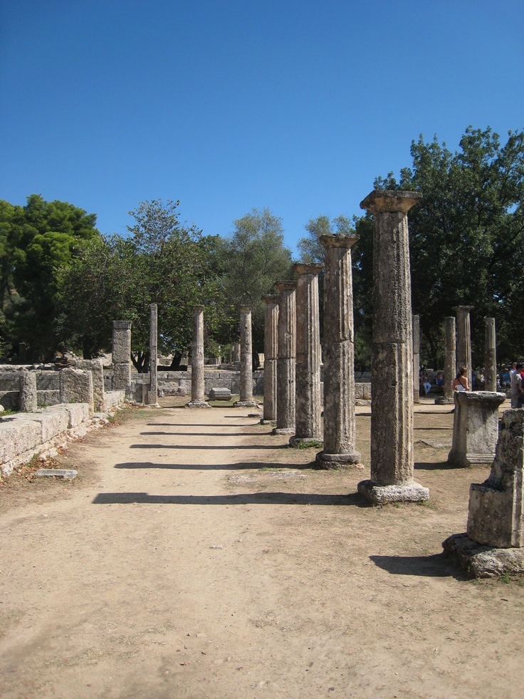 Katakolon (Olympia), Greece..site of the first Olympic games.  Breathtaking.
